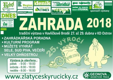 Image result for zahrada havlíčkův brod 2018